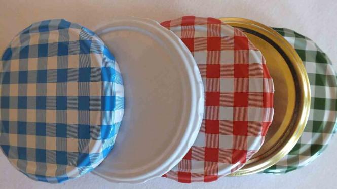 Deckel für Schraubglas, je Stück
